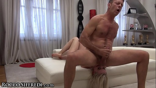 Rocco Siffredi's Cock in Amateur Teen Ass & Dildo DP's her Pussy!